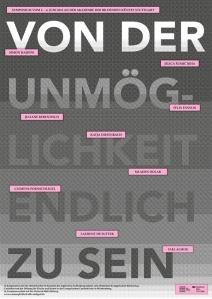 Plakat DIN A1, mit Homepagelink