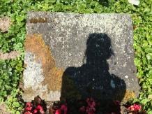 ein verblichener Grabstein