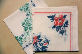 1. Typical present for those who attended the funerals: a handkerchief or a kitchen towel